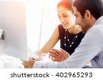 business people in modern office | Shutterstock . vector #402965293