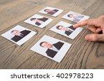 close up of a businessman... | Shutterstock . vector #402978223