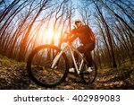 cyclist riding the bike | Shutterstock . vector #402989083