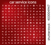 car service icons set | Shutterstock .eps vector #403004947