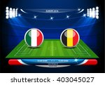 football or soccer playing... | Shutterstock .eps vector #403045027