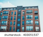 low angle view on modern... | Shutterstock . vector #403051537