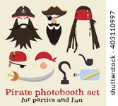 Vector Set Of Pirate Elements....