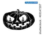 jack o lantern halloween... | Shutterstock .eps vector #403147207