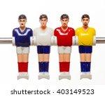 foosball table soccer football... | Shutterstock . vector #403149523