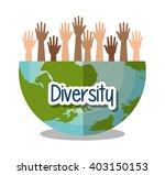 diversity people design  | Shutterstock .eps vector #403150153