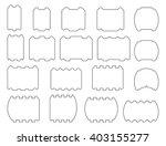profile bars. vector set of... | Shutterstock .eps vector #403155277