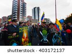 quito  ecuador   april 7  2016  ... | Shutterstock . vector #403172137
