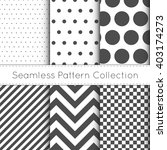 seamless pattern collection...   Shutterstock .eps vector #403174273