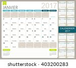 french printable monthly... | Shutterstock .eps vector #403200283