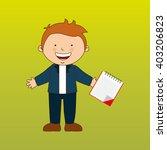 students back to school design  | Shutterstock .eps vector #403206823