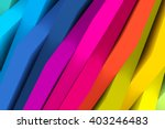 abstract colorful background 3d ...   Shutterstock . vector #403246483