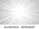 comic black radial lines... | Shutterstock .eps vector #403266667