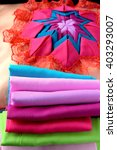 creative colorful  quilt pillow.... | Shutterstock . vector #403293007
