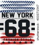 America Flag New York Sport...