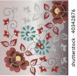 vector seamless vintage | Shutterstock .eps vector #40342876