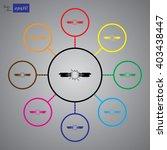 short circuits between two...   Shutterstock .eps vector #403438447
