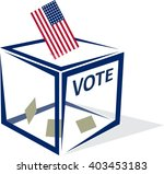 usa vote | Shutterstock .eps vector #403453183