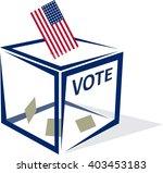 usa vote   Shutterstock .eps vector #403453183