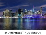 Panoramic View New York City...