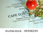 cape town  south africa  home... | Shutterstock . vector #40348234