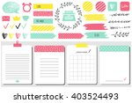 sticker  icons  signs for... | Shutterstock .eps vector #403524493