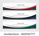 Abstract Website Banner Design...