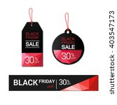 black friday sales tag  sale ... | Shutterstock .eps vector #403547173