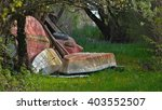 Abandoned Boats On The Grass I...