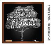 vector concept or conceptual... | Shutterstock .eps vector #403552813