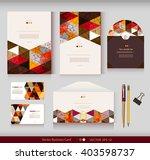corporate identity.vector... | Shutterstock .eps vector #403598737