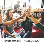 classmate solidarity team group ... | Shutterstock . vector #403602223