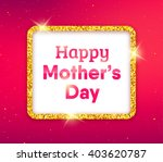 happy mothers day typographic... | Shutterstock .eps vector #403620787