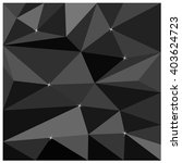 black abstract low poly ...