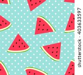 Watermelon Seamless Pattern...