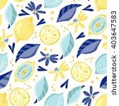 vector seamless pattern of... | Shutterstock .eps vector #403647583
