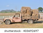 Old Truck Hay