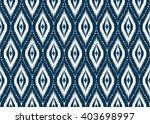 geometric ethnic oriental ikat... | Shutterstock .eps vector #403698997