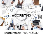 accounting auditing bookkeeping ... | Shutterstock . vector #403716037