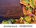 Autumn Fall Background With...