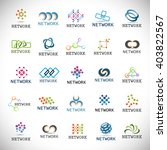 network icons set isolated on...   Shutterstock .eps vector #403822567
