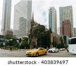 chicago  usa   september 25 ...   Shutterstock . vector #403839697