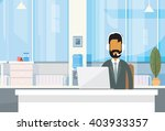 support indian business man...   Shutterstock .eps vector #403933357