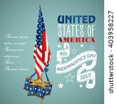 4 july independence day festive ... | Shutterstock .eps vector #403958227