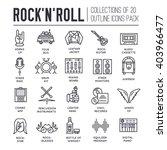 premium quality rock'n'roll... | Shutterstock .eps vector #403966477