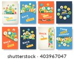 back to school information... | Shutterstock .eps vector #403967047