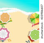 summer time background. sunny... | Shutterstock .eps vector #403986607