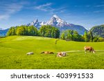 Idyllic Summer Landscape In Th...