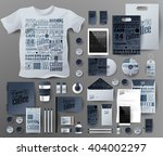 abstract  business set.... | Shutterstock .eps vector #404002297