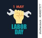 international worker and labor... | Shutterstock .eps vector #404007577